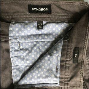 Bonobos Men's Slate Cotton Chinos (32x30 Slim)